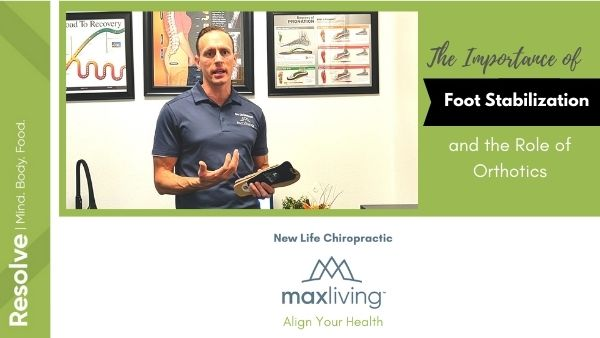 How custom orthotics help stabilize the feet and arches